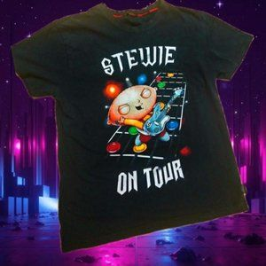 FAMILY GUY - STEWIE ON TOUR Size: S 2009 Genuine